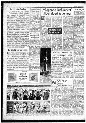 Rotterdamsch Parool / De Schiedammer 1957-11-05