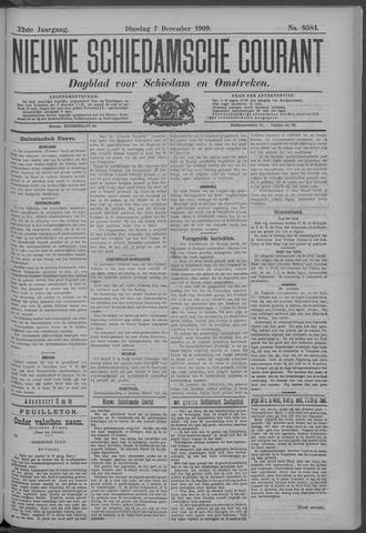 Nieuwe Schiedamsche Courant 1909-12-07