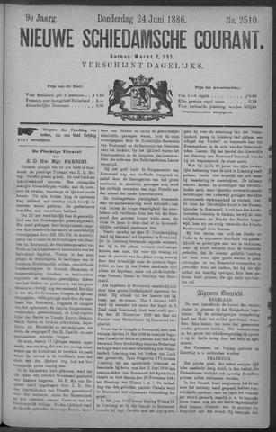 Nieuwe Schiedamsche Courant 1886-06-24