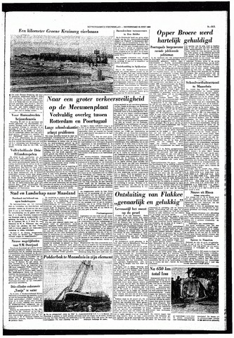 Rotterdamsch Nieuwsblad / Schiedamsche Courant / Rotterdams Dagblad / Waterweg / Algemeen Dagblad 1965-06-10