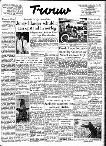 Trouw / De Rotterdammer 1956-02-24