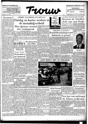 Trouw / De Rotterdammer 1957-11-12