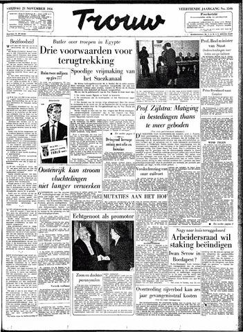 Trouw / De Rotterdammer 1956-11-23