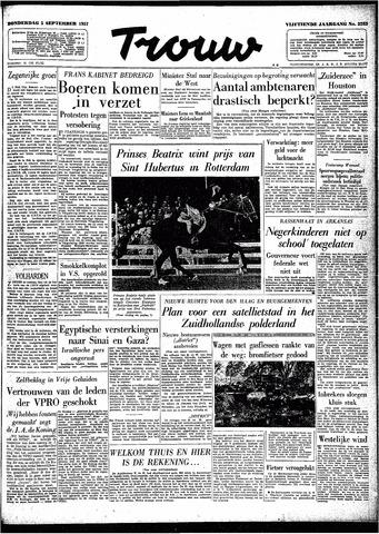 Trouw / De Rotterdammer 1957-09-05