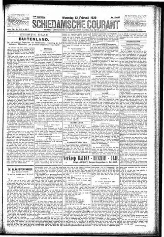 Schiedamsche Courant 1929-02-13