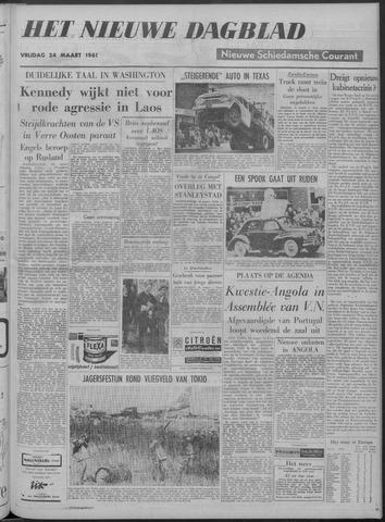 Nieuwe Schiedamsche Courant 1961-03-24