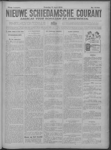 Nieuwe Schiedamsche Courant 1929-04-13