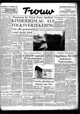 Trouw / De Rotterdammer 1957-10-31