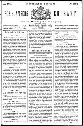 Schiedamsche Courant 1877-02-15
