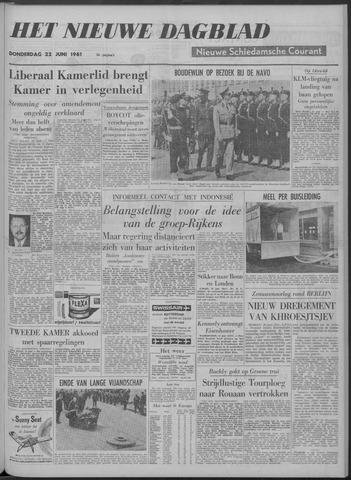 Nieuwe Schiedamsche Courant 1961-06-22