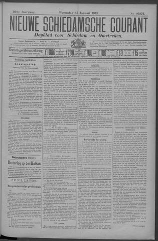 Nieuwe Schiedamsche Courant 1913-01-15