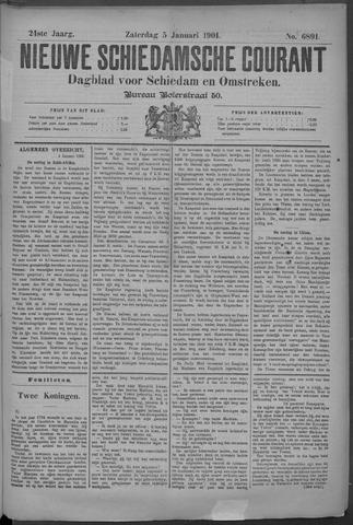 Nieuwe Schiedamsche Courant 1901-01-05