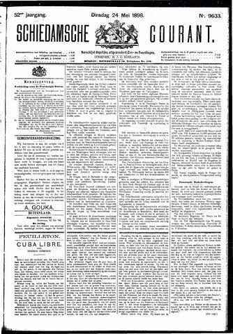 Schiedamsche Courant 1898-05-24