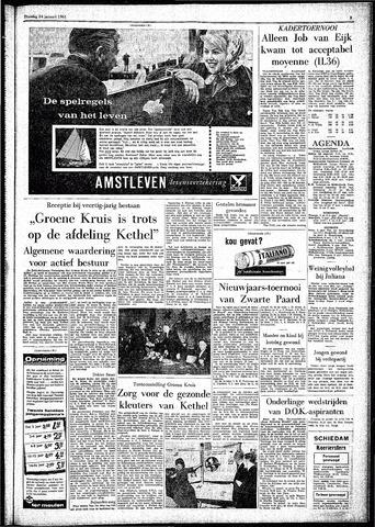 Rotterdamsch Parool / De Schiedammer 1961-01-24