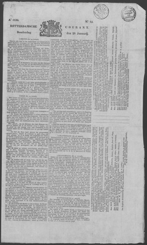 Rotterdamse Courant 1836-01-28