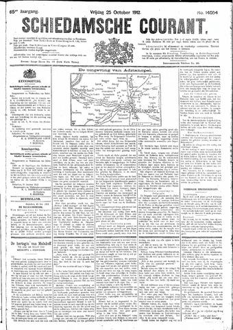 Schiedamsche Courant 1912-10-25