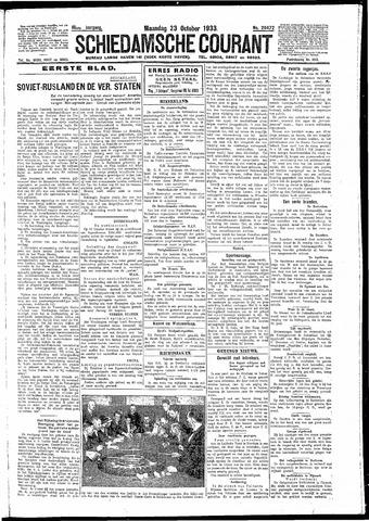 Schiedamsche Courant 1933-10-23