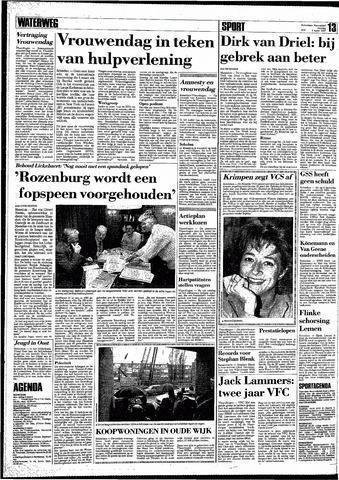 Rotterdamsch Nieuwsblad / Schiedamsche Courant / Rotterdams Dagblad / Waterweg / Algemeen Dagblad 1987-03-03