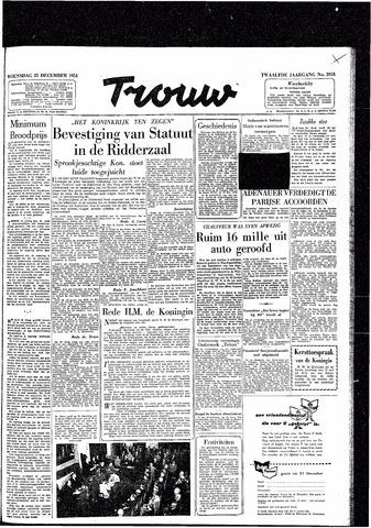 Trouw / De Rotterdammer 1954-12-15