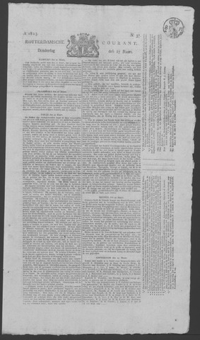 Rotterdamse Courant 1823-03-27