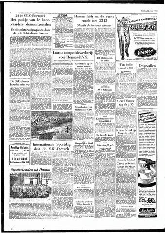 Rotterdamsch Parool / De Schiedammer 1955-06-24