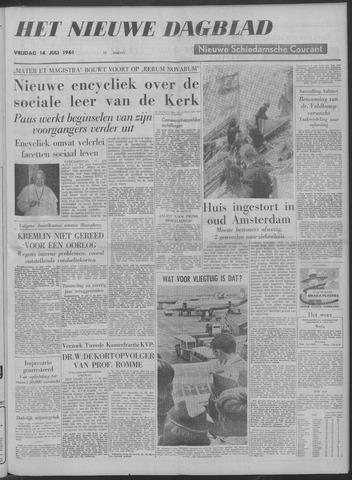 Nieuwe Schiedamsche Courant 1961-07-14