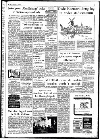 Rotterdamsch Parool / De Schiedammer 1961-10-19