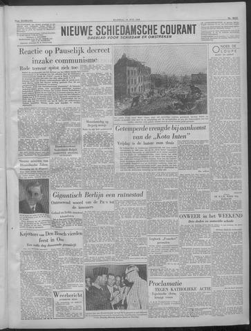 Nieuwe Schiedamsche Courant 1949-07-18