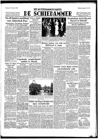 Rotterdamsch Parool / De Schiedammer 1948-12-14