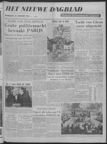 Nieuwe Schiedamsche Courant 1962-01-31
