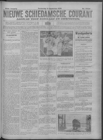 Nieuwe Schiedamsche Courant 1929-09-19