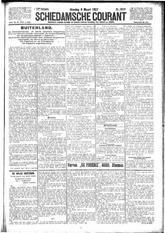 Schiedamsche Courant 1927-03-08