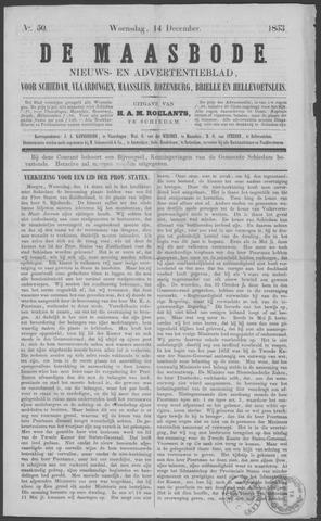 De Maasbode 1853-12-14