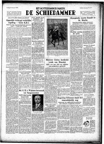 Rotterdamsch Parool / De Schiedammer 1948-01-30