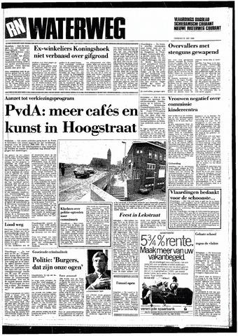 Rotterdamsch Nieuwsblad / Schiedamsche Courant / Rotterdams Dagblad / Waterweg / Algemeen Dagblad 1985-05-21