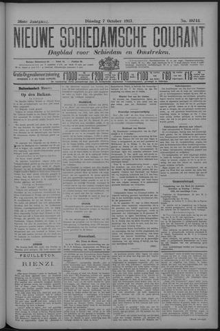 Nieuwe Schiedamsche Courant 1913-10-07