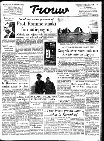 Trouw / De Rotterdammer 1956-08-02