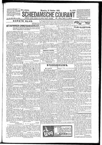 Schiedamsche Courant 1931-10-19