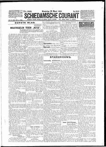 Schiedamsche Courant 1933-03-29