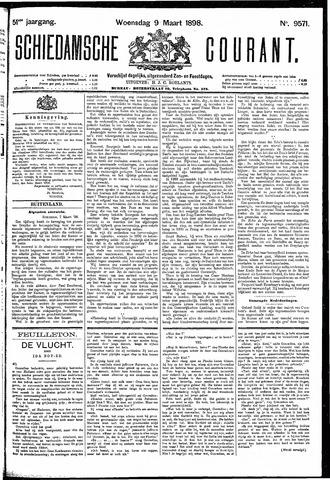 Schiedamsche Courant 1898-03-09