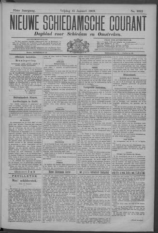 Nieuwe Schiedamsche Courant 1909-01-15