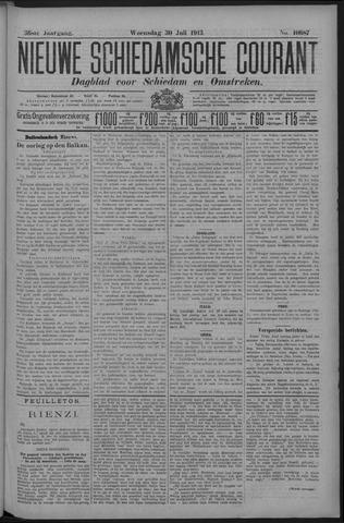 Nieuwe Schiedamsche Courant 1913-07-30