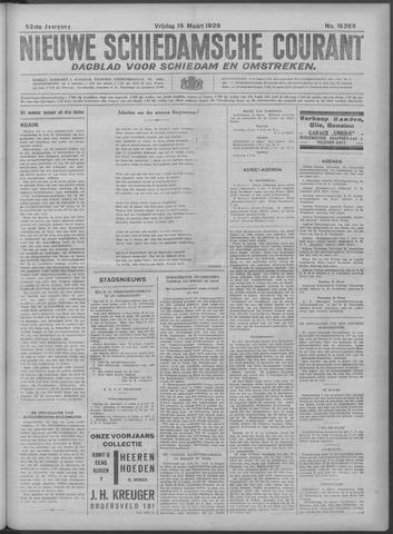 Nieuwe Schiedamsche Courant 1929-03-15