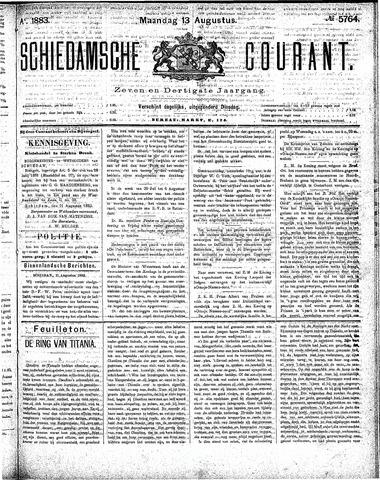 Schiedamsche Courant 1883-08-13