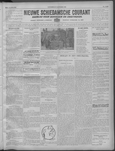 Nieuwe Schiedamsche Courant 1932-10-06