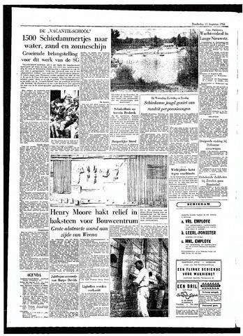 Rotterdamsch Parool / De Schiedammer 1955-08-11