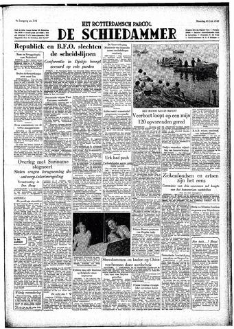 Rotterdamsch Parool / De Schiedammer 1949-07-25