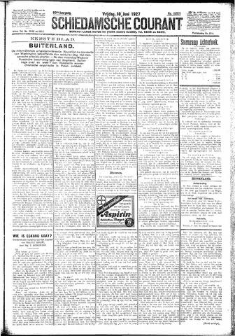 Schiedamsche Courant 1927-06-10