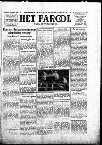 Rotterdamsch Parool / De Schiedammer 1945-11-06