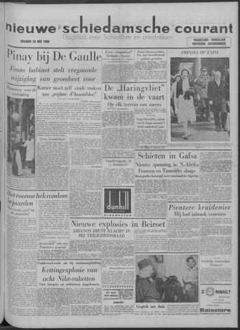 Nieuwe Schiedamsche Courant 1958-05-23